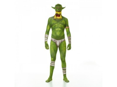 MORPHSUITS MONSTER ORC VERDE JAW DROPPER L