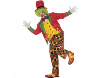 A COSTUME CLOWN ADULTO M