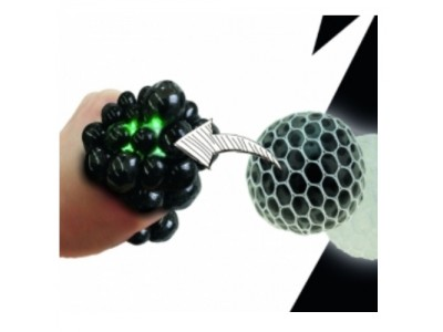 PALLINA ANTISTRESS SQUEEZE BALL CON LED