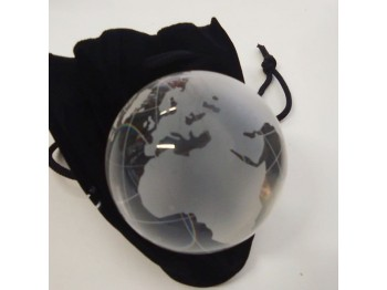 PALLINA CONTACT ACRILICA 80 mm con CUSTODIA - GLOBE