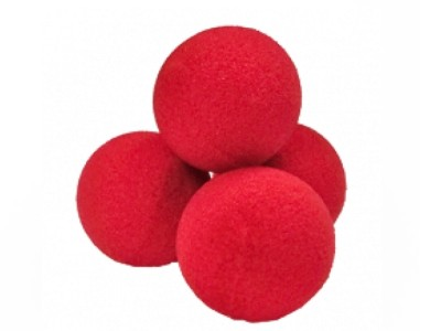PALLINE SPUGNA 40 mm KIT set di 4