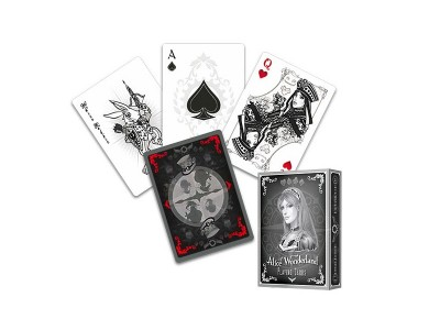 CARTE ALICE OF WONDERLAND ARGENTO