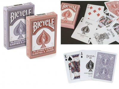 CARTE BICYCLE MARSALA E DAYBREAK